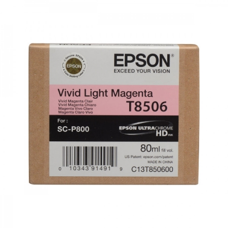 Epson T8506 - Cartus Light Magenta pentru SC-P800