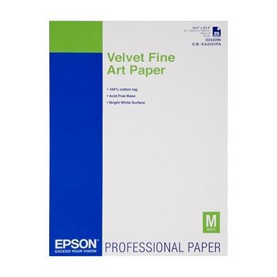 Epson Velvet Fine Art Paper A2 260g/m2 - pachet 25 coli
