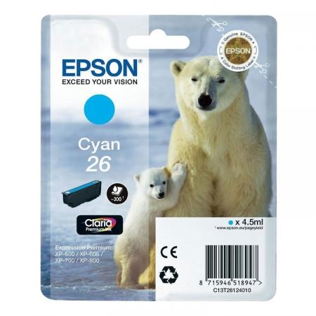 Epson XP Claria Premium - T2612 - Cartus Cyan - RS125002067