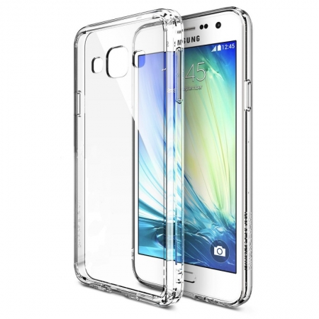 FUSION CRYSTAL VIEW Husa Samsung Galaxy A5 Ringke + BONUS folie protectie display Ringke