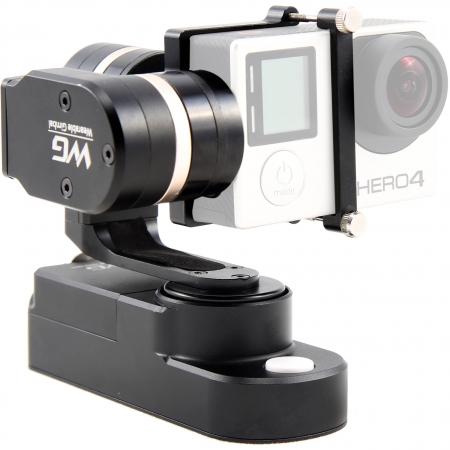 Feiyu Tech FY-WG - gimbal 3 axe pentru GoPro Hero 3+, Hero 4