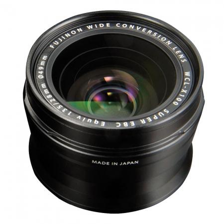Fuji WCL-X100 negru - lentila de conversie superangulara pentru X100