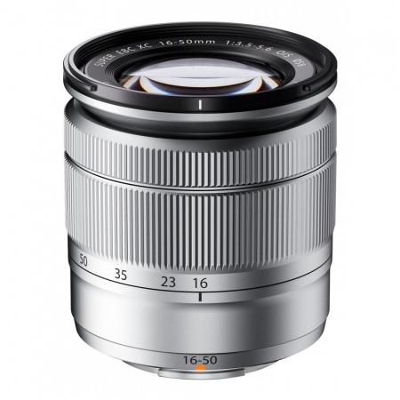 Fujifilm XC 16-50mm f/3.5-5.6 OIS argintiu
