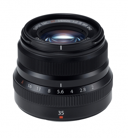 Fujifilm Fujinon XF 35mm F2 R WR negru