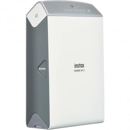 Fujifilm Instax Share SP-2 - Imprimanta Foto Wi-Fi, Silver