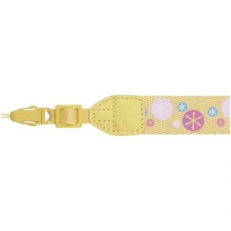 Fujifilm Instax Strap yellow / design starlets