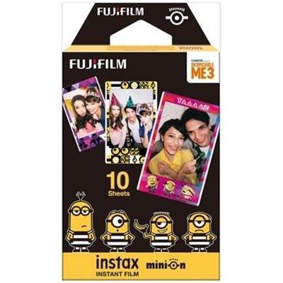 Fujifilm Minions DM3 10 - Film instant pentru Instax Mini, 10 buc.