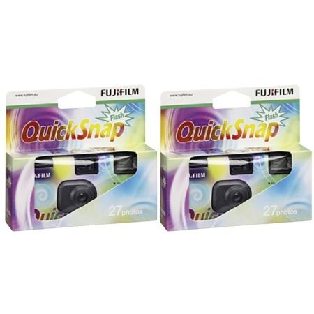 Fujifilm Quicksnap 1x2 Flash 27 - camere unica folosinta 27 cadre