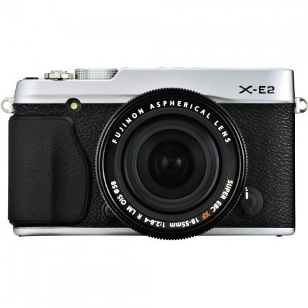Fujifilm X-E2 + XF 18-55 argintiu