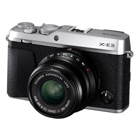 Fujifilm X-E3 Kit XF 23mm f/2, Argintiu