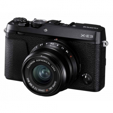 Fujifilm X-E3 Kit XF 23mm f/2, Negru