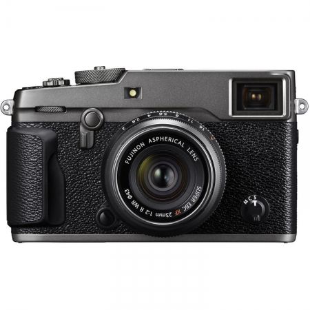 Fujifilm X-Pro2 kit Fujinon 23mm f/2, Argintiu Graphite
