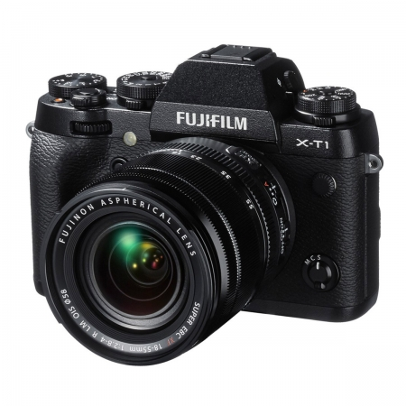 Fujifilm X-T1 kit XF EBC 18-55mm f/2.8-4 negru