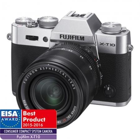 Fujifilm X-T10 Argintiu kit XF18-55 - RS125018445-2