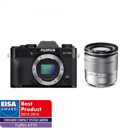 Fujifilm X-T10 negru kit Fujinon XC 16-50mm f/3.5-5.6 OIS II argintiu