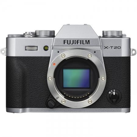Fujifilm X-T20 body, Argintiu