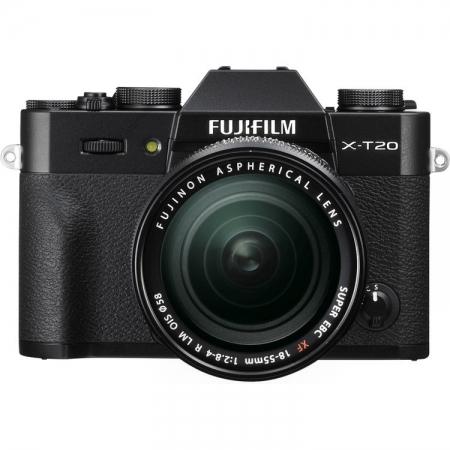 Fujifilm X-T20 kit 18-55mm, Negru