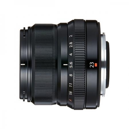 Fujifilm XF 23mm F2 R WR - negru