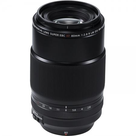 Fujifilm XF 80mm F2.8 LM OIS WR Macro, Negru