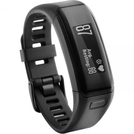 GARMIN VIVOSMART HR BLACK - bratara fitness cu heart rate monitor RS125023700-2