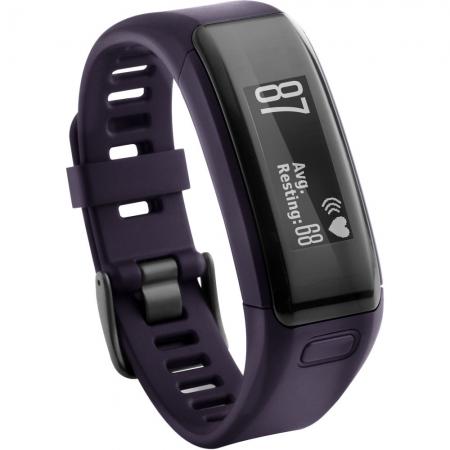 GARMIN VIVOSMART HR VIOLET - bratara fitness cu heart rate monitor RS125023701