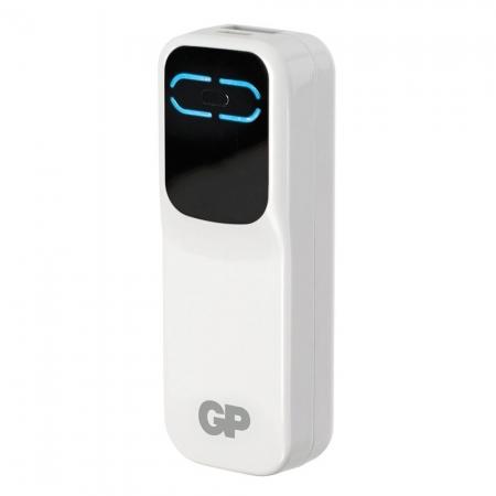 GP Portable PowerBank GPXPB21 alb - acumulator extern 2000mAh