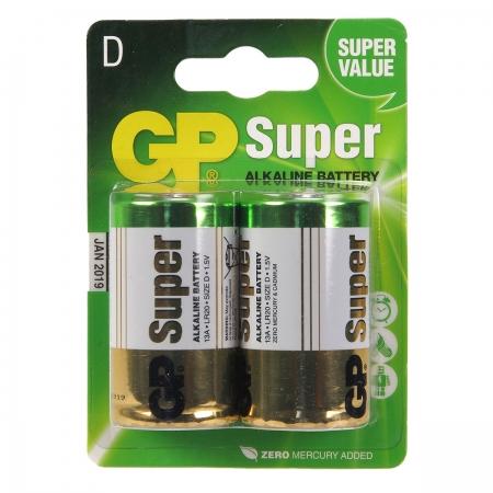 GP Super D - baterie alcalina R20 / D