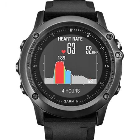 Garmin Fenix 3 Sapphire HR - Smartwatch, Negru