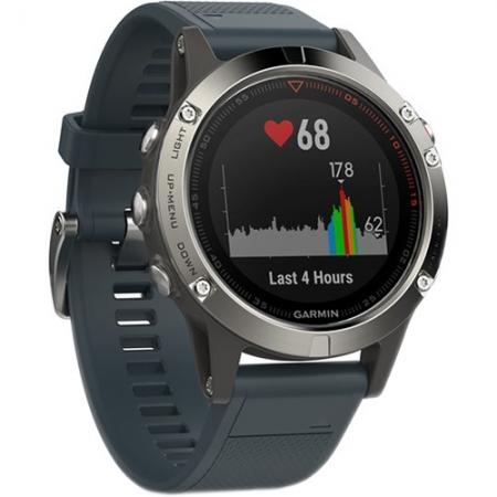Garmin Fenix 5 - Smartwatch, GPS - Granite Blue