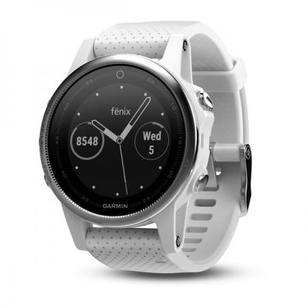Garmin Fenix 5s - Smartwatch, GPS - Alb