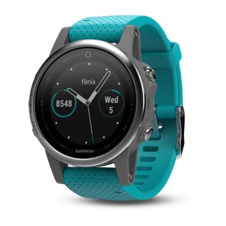 Garmin Fenix 5s - Smartwatch, GPS - Turcoaz