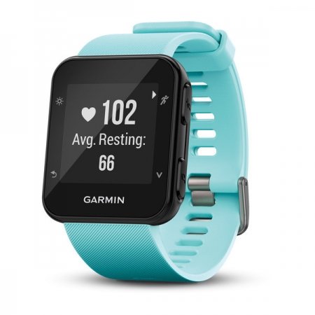 Garmin Forerunner 35 - Ceas alergare, GPS, Heart Rate, smart notifications, Frost Blue