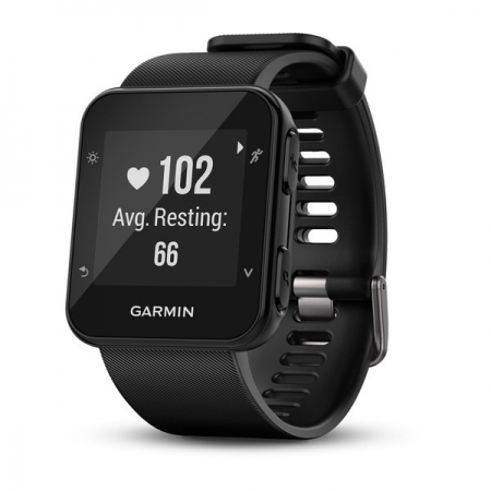 Garmin Forerunner 35 - Ceas alergare, GPS, Heart Rate, smart notifications, Negru