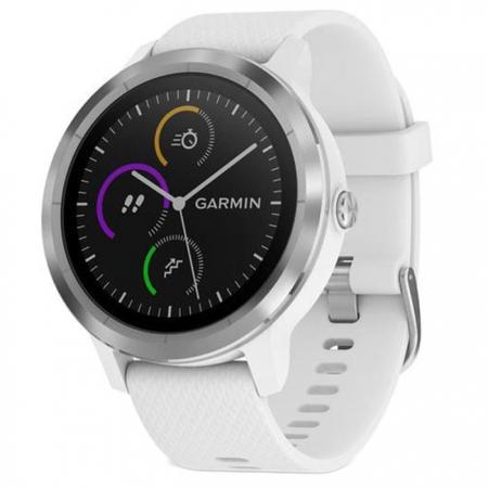 Garmin Vivoactive 3 - Smartwatch, GPS, Silver/ White