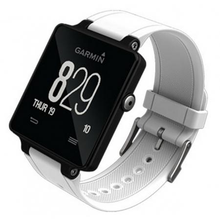 Garmin Vivoactive - smartwatch + monitor catdiac - alb