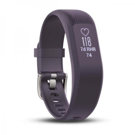 Garmin Vivosmart 3 - Bratara fitness, S-M, Violet