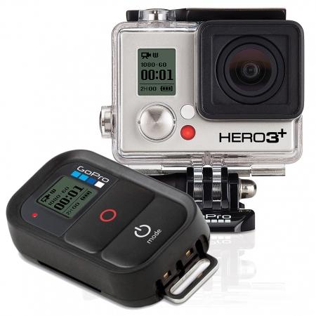 GoPro HERO3+ Black Edition - camera video de actiune Full HD 4K