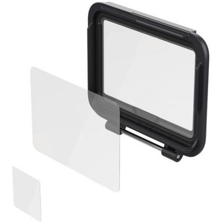 GoPro Kit protectie ecran pentru Hero5, Negru
