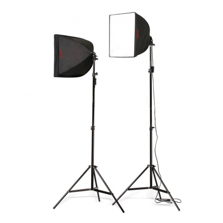 Godox CL55K2 AC Softbox Kit 2 - set lumina continua
