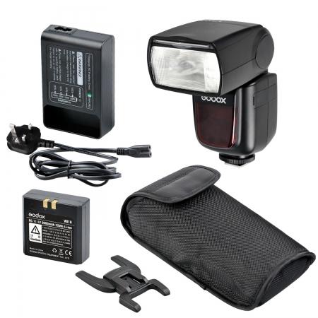 Godox V860N - kit blitz i-TTL pentru Nikon, numar director 58