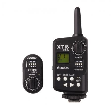 Godox XT-16 Flash Trigger 2.4G - kit declansare radio T+R