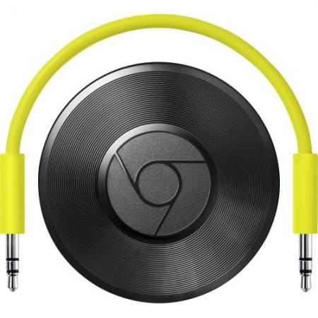 Google Chromecast 2.0 Audio - HDMI Streaming media player - negru - RS125022767
