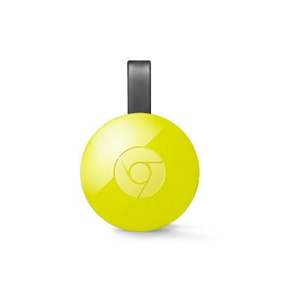Google Chromecast 2.0 - media player digital cu HDMI - galben