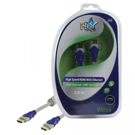 HQ HQSV-400-5.0 - cablu HDMI mare-mare, 5m