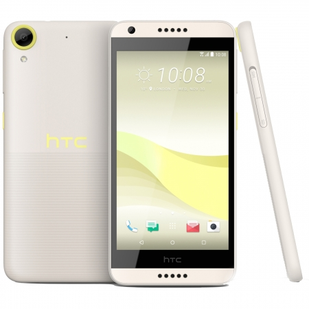 HTC Desire 650 - 5'', Single Sim, Quad-Core, 16 GB, 2GB RAM, 4G - Lime Light
