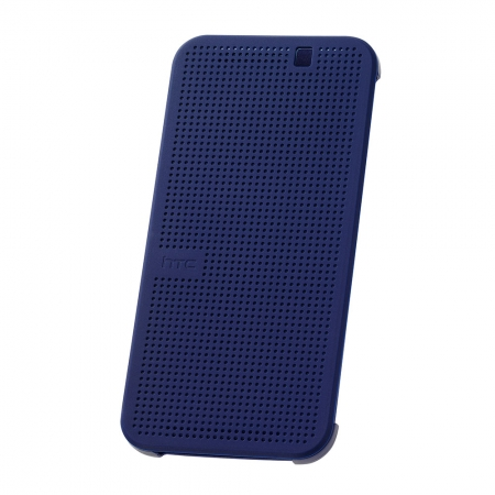 HTC HC M231 - husa Dot View pentru HTC ONE M9 - albastru