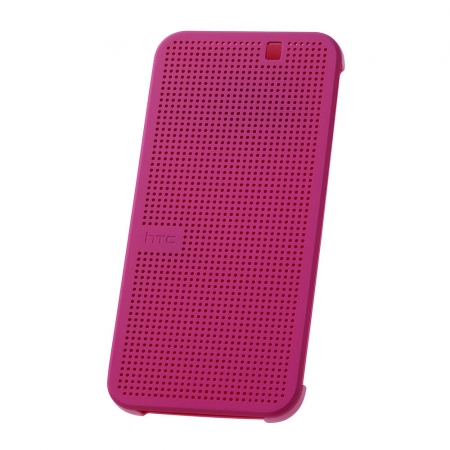 HTC HC M231 - husa Dot View pentru HTC ONE M9 - roz