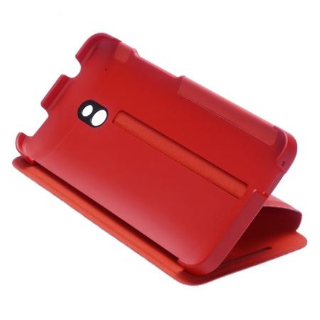 HTC HC V851 - Husa flip Double Dip HTC One Mini - rosu
