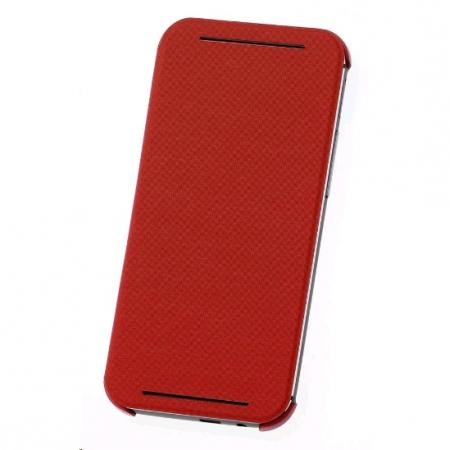 HTC HC V941 - Husa flip pentru HTC ONE M8 - Rosu