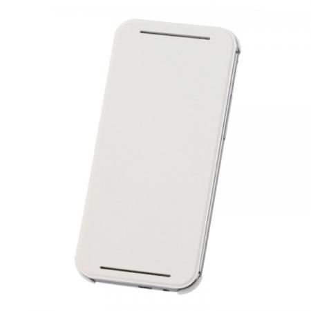 HTC HC V941 - Husa flip pentru HTC ONE M8 - alb